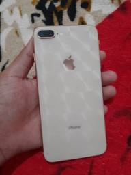 Vendo iPhone 8 Plus conservado, 64gb, 76% de bateria