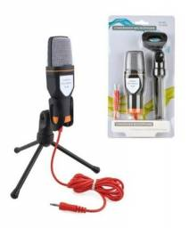 Microfone Com Fio Condensador Sf-666 Estudio -Loja Natan Abreu Serra