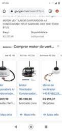Motor do ventilador do ar condicionado Samsung vírus doctor R$ 80,00