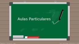 Reforço/ aulas particulares