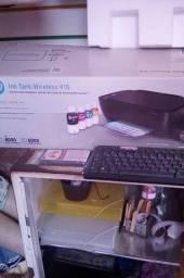 Vendo impressora HP tank wireless nova. Computador tambem