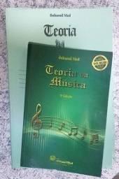 Teoria Da Música + Livro De Exercícios Kit Bohumil Med
