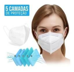 Kit 10 Máscaras Kn95 Prevenção Corona Vírus (Preço de Atacado)