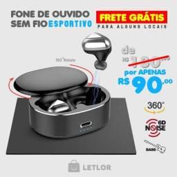 Fone De Ouvido T50 Dual Bluetooth 5.0tws Par Sem Fio Durawel