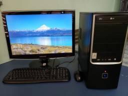 Vendo desktop i7 8Gb de ram monitor 22 polegadas - 12x sem juros