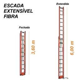 Escada Extensível de Fibra de Vidro