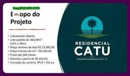 Título do anúncio: Loteamento Residencial Catu - Invista já %#@