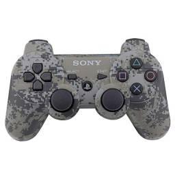 Controle Sony Playstation 3 Dualshock 3 Camuflado Sem Caixa com 3 Meses de Garantia