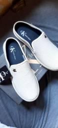 Tênis sapatilha cor branca