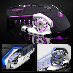 Mouse Gamer profissional K-Snake Q5 4 cores