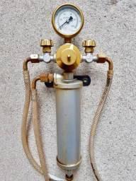 Manômetro Regulador de pressão