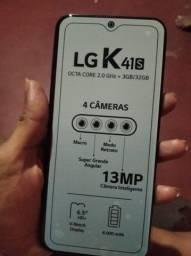 LG K41s novo lacrado