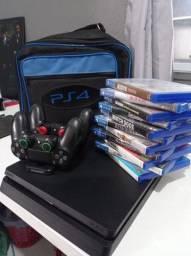 PS4 Slim HDR 1tb - Novíssimo!