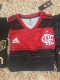 Camisa do Flamengo temporada 2020/2021