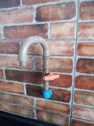 Torneira de PVC