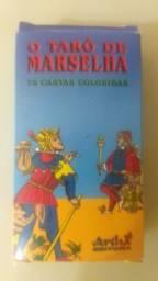 Cartas tarô de Marcelia novo nunca usado