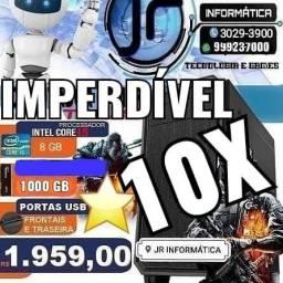Computador Corei5 intel com 8GB - 10x