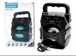 Caixa de Som Bluetooth Amplificada 5w Kts-1057