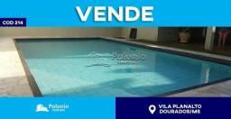 Casa à venda com 2 dormitórios em Vila planalto, Dourados cod:214