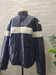 Jaqueta de couro Masculina para Motociclista