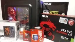 Pc Gamer 8 Cores 3.3ghz 8gb Placa Vídeo Gtx 970 Msi 4gb 1tb Computador CPU