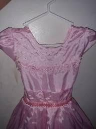 Vestido infantil formatura