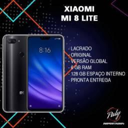 Xiaomi Mi 8 Lite Preto 128 GB - Paty Importados