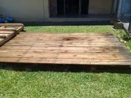 Vendo Deck de madeira