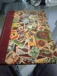 Selos de correios para colecionador