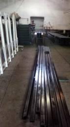 Estrutura metálica nova completa de 300m2