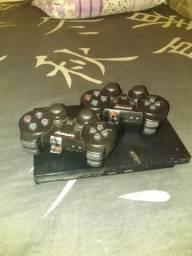 Vendo PlayStation 2 controle sem fio, e controle volante