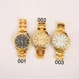 801743a98d2 Relógio Dourado H