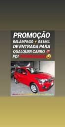 Fiat/MOBI LIKE 1.0 2018 COM R$11MIL DE ENTRADA SÓ NA SHOWROOM AUTOMÓVEIS