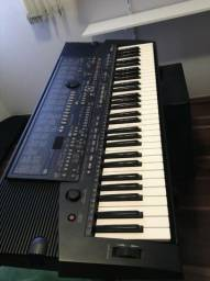 Vende-se teclado Yamaha PSR-510, intacto, na caixa, com acessórios