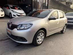 Renault Sandero Expression - 2015 - 1.0 - Unico Dono - 2015