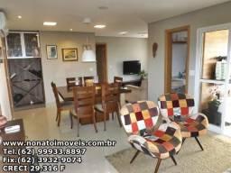 Lindo apartamento 3 suites plenas 128m² no Setor Bueno