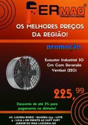 Exaustor Industrial 30 Cm Com Reversão Ventisol (220v)