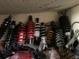 Amortecedor traseiro pra motos de Bros 150 Twister 250 XRE 300 e outras motos