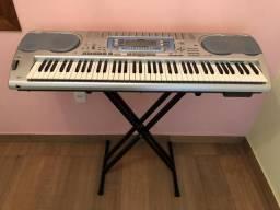 Teclado casio WK3100,cartao de memoria,piano