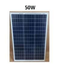 Placa Painel solar Fotovoltaico 150w Lacrados