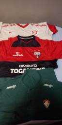 Camisas de colecionador times brasileiros