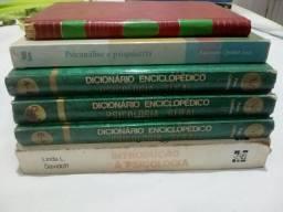 Livros de psicologia, psiquiatria e psicanálise