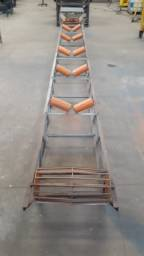 Esteira transportadora - somente a estrutura conforme fotos