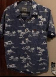 Camisa de botão Tropical Gangster GG