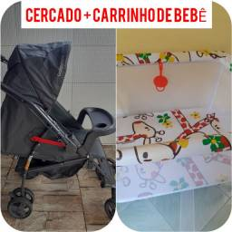 CERCADO + CARRINHO DE BEBÊ