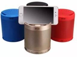 Mini Caixa Caixinha Som Ye's Hf-q3 Portatil Bluetooth Mp3