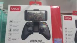 Controle  wireless  para celular  jogos