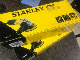 Esmerilhadeira angular Stanley STGS6115 amarela 220V