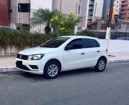 Volkswagen Gol MPI 2019 branco seminovo