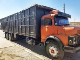 Mb 1313 Truck Gaiola Boiadeira 10.50 Mts